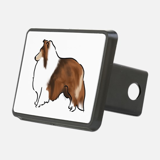 sable sheltie Hitch Cover