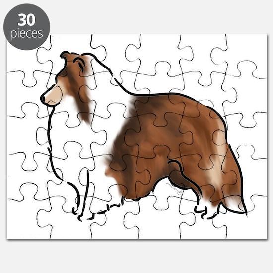 sable sheltie Puzzle