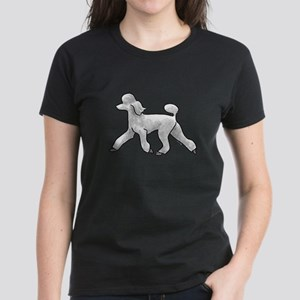 poodle white T-Shirt