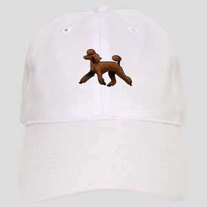 red poodle Baseball Cap