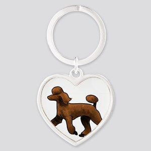 red poodle Keychains