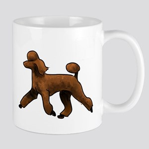 red poodle Mugs