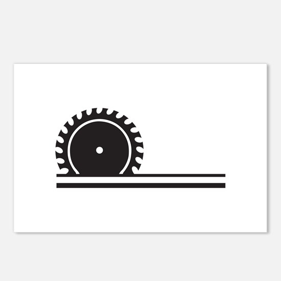 SAW BLADE Postcards (Package of 8)