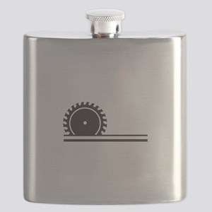 SAW BLADE Flask