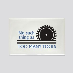 TOO MANY TOOLS Magnets