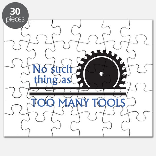 TOO MANY TOOLS Puzzle