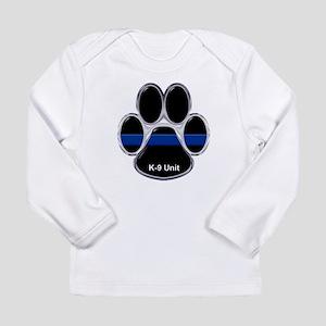 K-9 Unit Thin Blue Line Long Sleeve T-Shirt