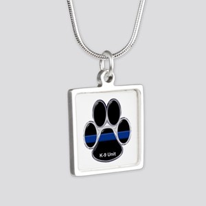 K-9 Unit Thin Blue Line Necklaces