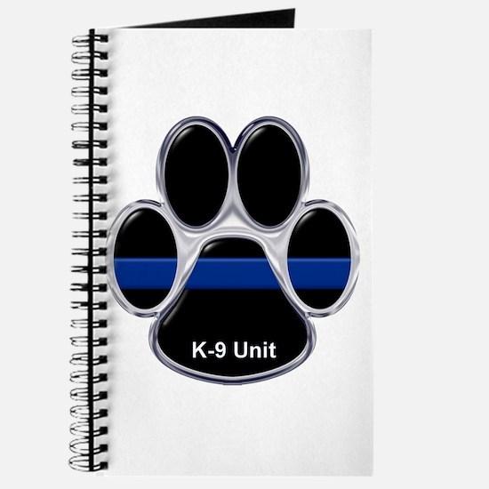 K-9 Unit Thin Blue Line Journal