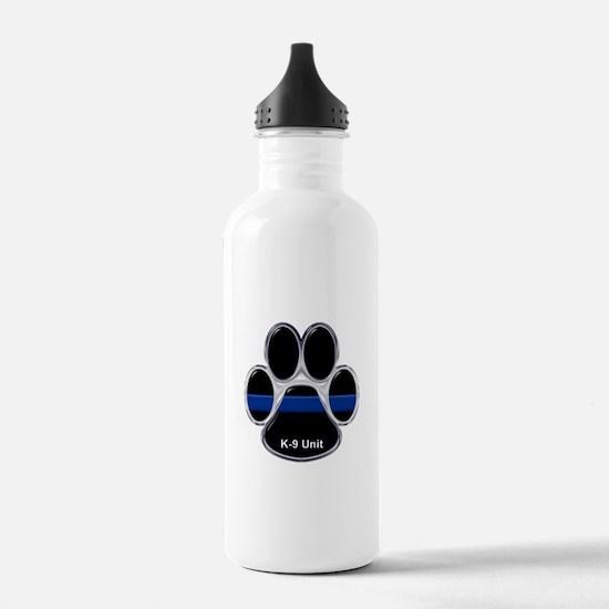 K-9 Unit Thin Blue Lin Water Bottle