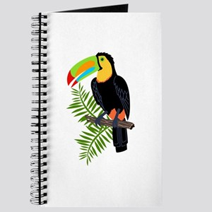 TOUCAN AND PALM LEAVES Journal