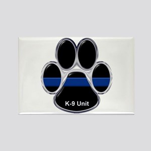 K-9 Unit Thin Blue Line Magnets