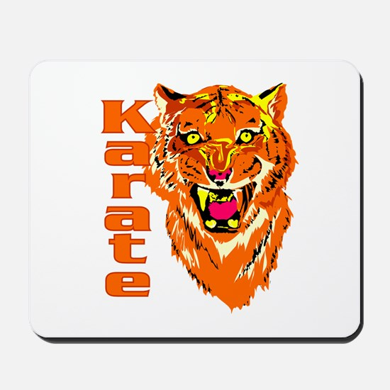 Karate with Tiger Mousepad