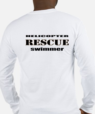 Helicopter Rescue Swimmer Long Sleeve T-Shirt