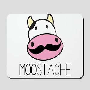 MOOstache Mousepad