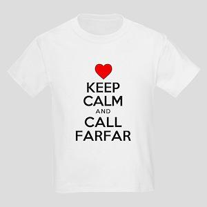 Keep Calm Call Farfar T-Shirt