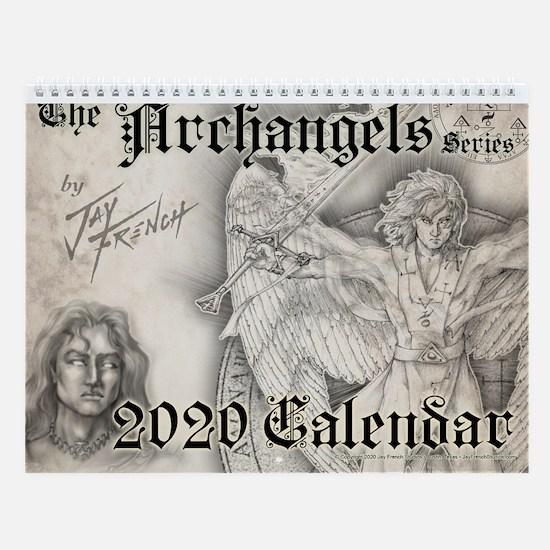 The Archangels 2018 Wall Calendar