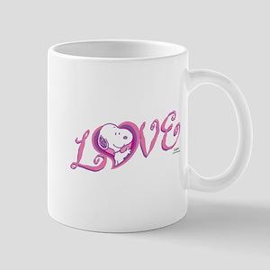 Snoopy Love 11 oz Ceramic Mug