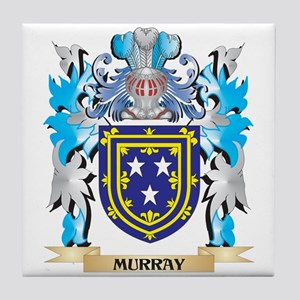 Murray Coat of Arms - Family Crest Tile Coaster