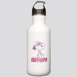 Snoopy Hearts Water Bottle