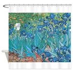 Vincent Van Gogh - Irises Shower Curtain