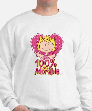 Sally 100% Adorable Sweatshirt