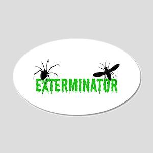 Exterminator Wall Decal