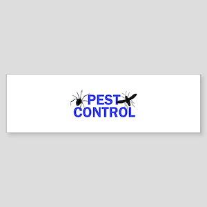 Pest Control Bumper Sticker