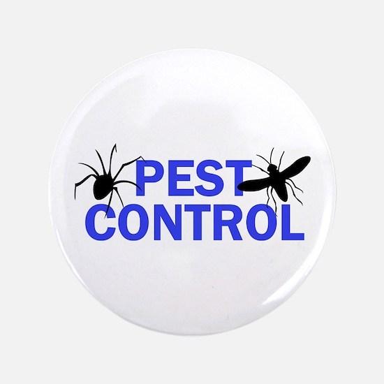 "Pest Control 3.5"" Button"