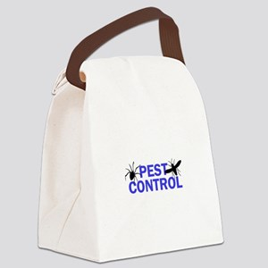 Pest Control Canvas Lunch Bag