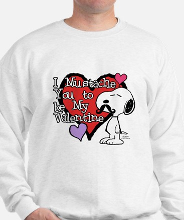 Snoopy - Mustache You Sweatshirt