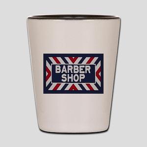 Old Time Barbershop Shot Glass