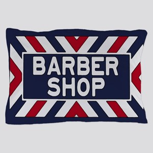 Old Time Barbershop Pillow Case