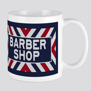 Old Time Barbershop Mugs