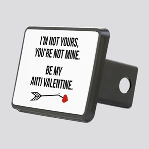 Be My Anti Valentine Rectangular Hitch Cover