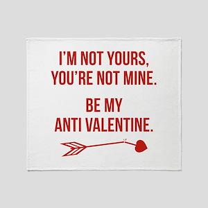 Be My Anti Valentine Stadium Blanket