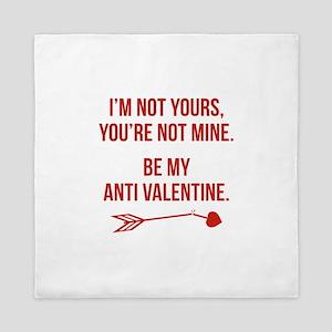 Be My Anti Valentine Queen Duvet