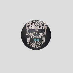 XRay Tech Skull Mini Button