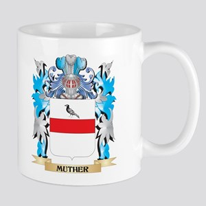 Muther Coat of Arms - Family Crest Mugs