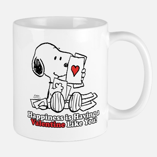 Happiness is a Valentine Mugs