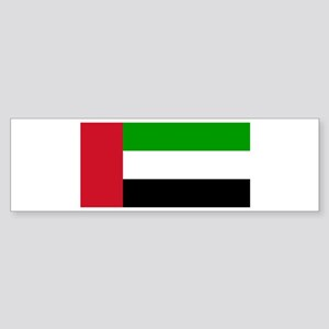 UAE Flag Bumper Sticker
