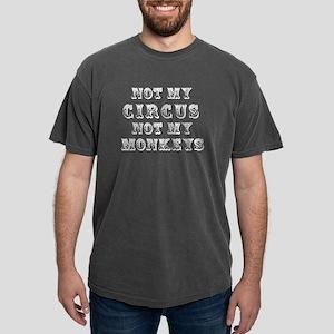 Not Circus Mens Comfort Colors Shirt