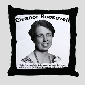 Eleanor: Peace Throw Pillow