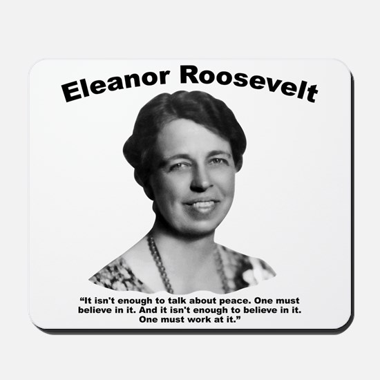 Eleanor: Peace Mousepad