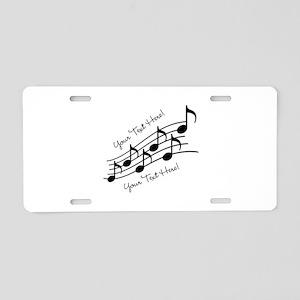 placeholder-13-5-square Aluminum License Plate