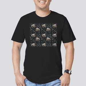 Floral Elephant in Water T-Shirt