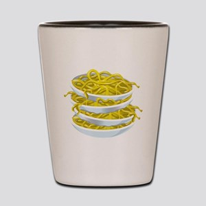 Bowls Of Noodles Shot Glass