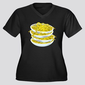Bowls Of Noodles Plus Size T-Shirt