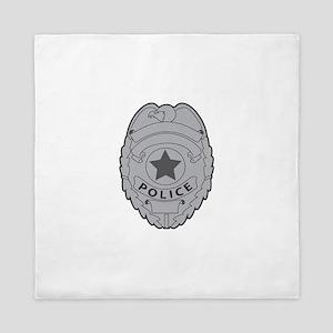 POLICE BADGE Queen Duvet