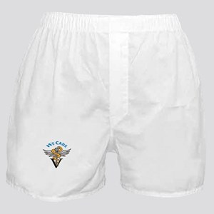 VETERINARIAN WE CARE Boxer Shorts